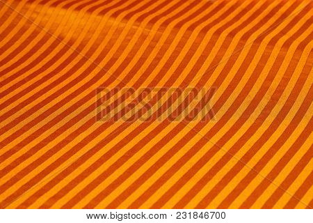 Stiped texture drapery background closeup