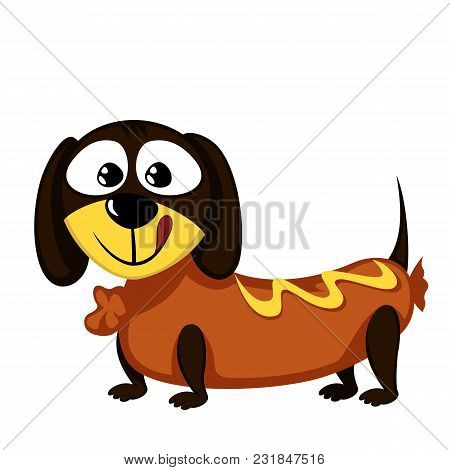 Little Dog - Lovely Little Dachshund As A Sausage