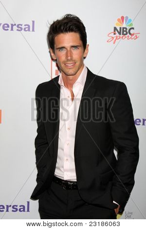 LOS ANGELES - AUG 1:  Brandon Beemer arriving at the NBC TCA Summer 2011 Party at SLS Hotel on August 1, 2011 in Los Angeles, CA