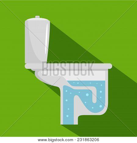 Toilet Equipment Icon. Flat Illustration Of Toilet Equipment Vector Icon For Web