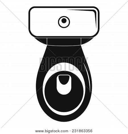 Restroom Icon. Simple Illustration Of Restroom Vector Icon For Web