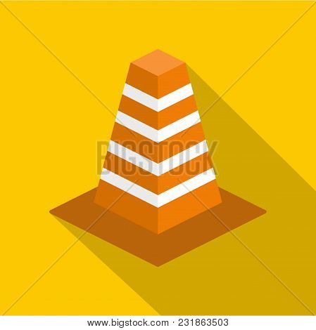 Barrier Icon. Flat Illustration Of Barrier Vector Icon For Web