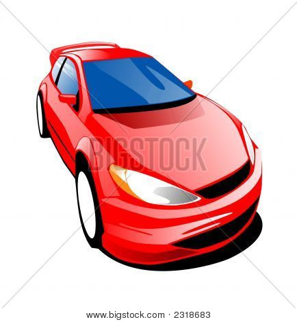 Fast Car  Red