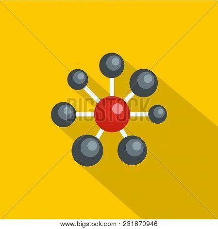 Round Lattice Icon. Flat Illustration Of Round Lattice Vector Icon For Web