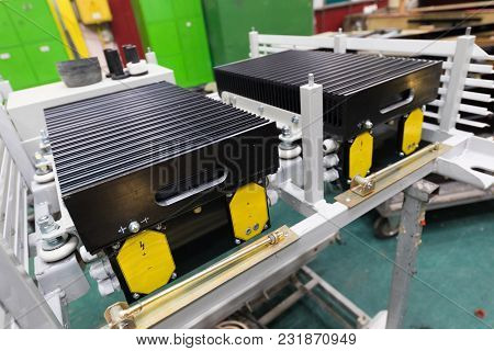 One Working Day Of Modern Automatic Bus Manufacturing With Unfinished Cars Automotive Parts Manufact