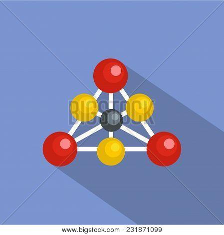 Diamond Lattice Icon. Flat Illustration Of Diamond Lattice Vector Icon For Web