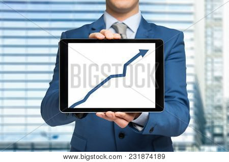 Positive financial forecast in a tablet