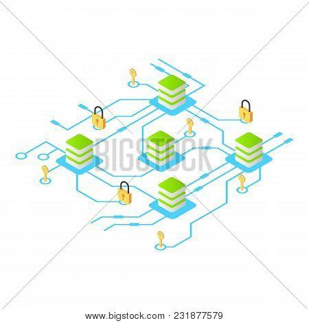 Protection Exchange Icon. Isometric Illustration Of Protection Exchange Vector Icon For Web