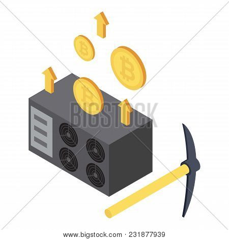 Stealing Money Icon. Isometric Illustration Of Stealing Money Vector Icon For Web