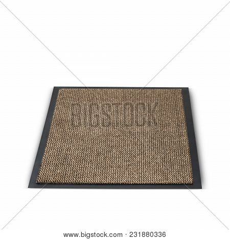 Extremely Versatile Rubber Foot Mat In Brown And Black Color Designed With Durable Materials. It Kee