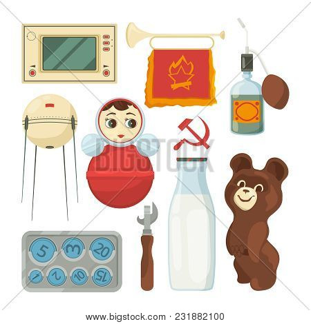 Back Ussr Symbols Vector Photo Free Trial Bigstock