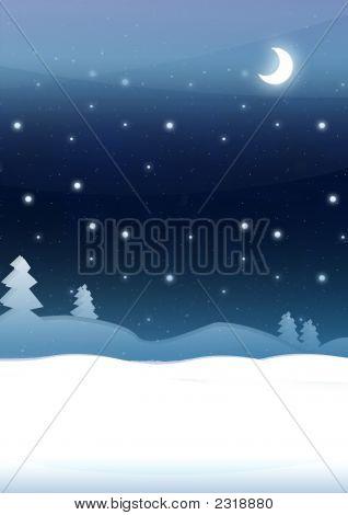 Blue Christmas Night