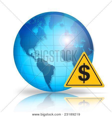 World debt caution