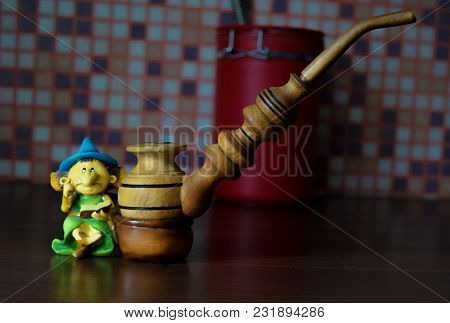 The Smoking Pipe With The Old Dwarf Is A Symbol Of Friendship
