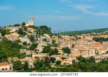 Small but beautiful old town of Reillanne, Provence - France