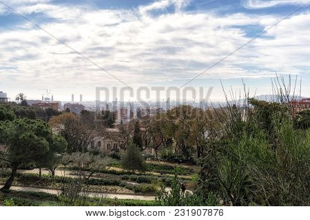 Gaudi Park Pathway