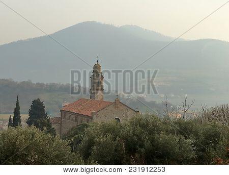 Arquà Petrarca, Italy Province Of Padua, Where Poet Francesco Petrarca Lived And Died