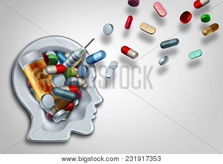 Medicine Education And Pharmacy Medication Learning For Patients And Doctors Concept As A Health Com