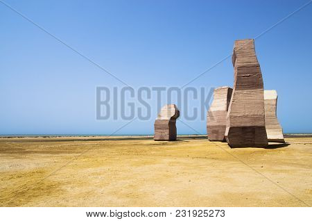 The Gate Of Allah On The Sinai Peninsula. Ras Mohammed National Park