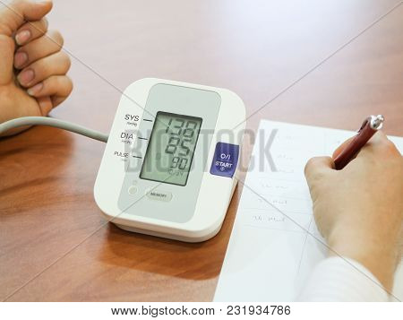 Blood Pressure Measuring And Taking Blood Pressure And Irregular Heart Beat Pulse Rate Notes Health