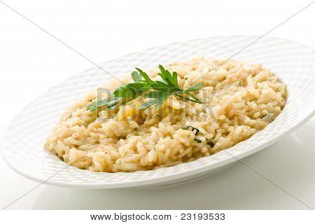 Risotto With Grana Parmesan Cheese