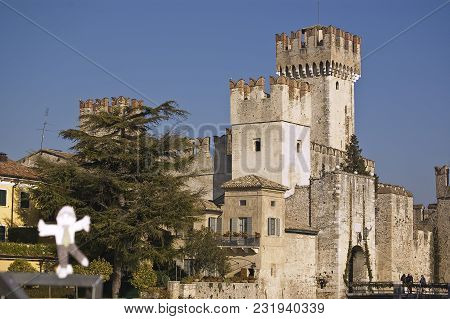 The Fortification On The Garda's Lake, Lazise, Italy