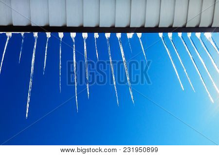 Icicles On The Roof, Drops Of Spring