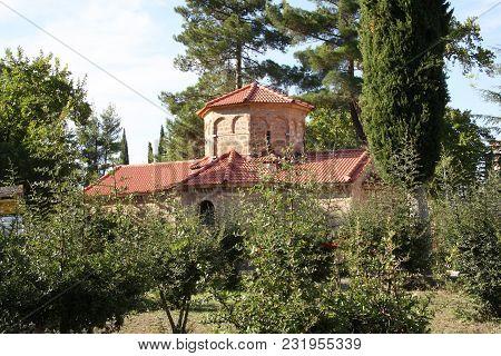 Old Church Of The Monastery Of St. Lavra. Kalavrita. Peloponnese