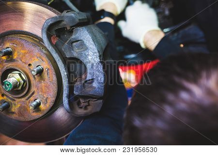 Complex Car Service Equipment Repair Inside