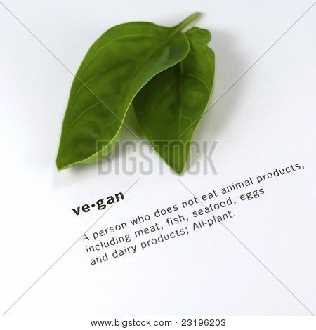 Definition of a word Vegan