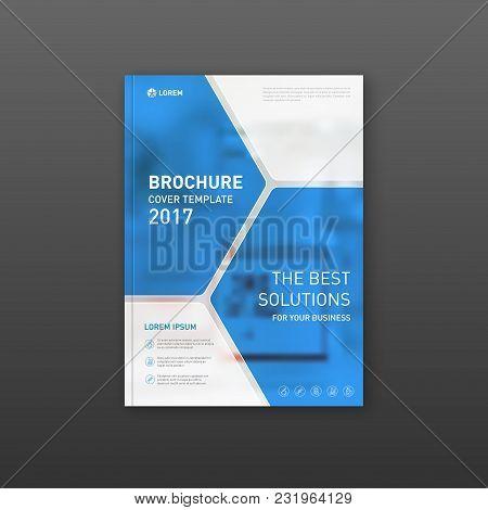 Medical Brochure Cover Template, Flyer Design Layout. Applicable For Catalog, Leaflet, Flyer Or Post