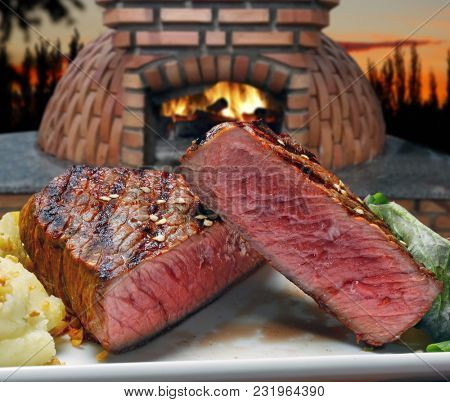 Grilled Beef Roasted Cut