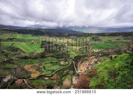 Spanish Countrysides Nearby Ronda