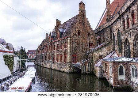 Old St Johns Hospital In Bruges