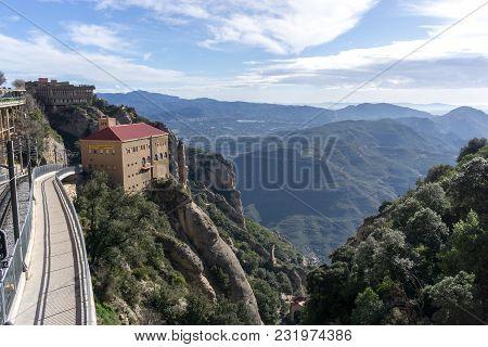 Abbey Of Montserrat Railroad