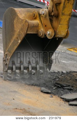 Roadwork - Digging Up The Road