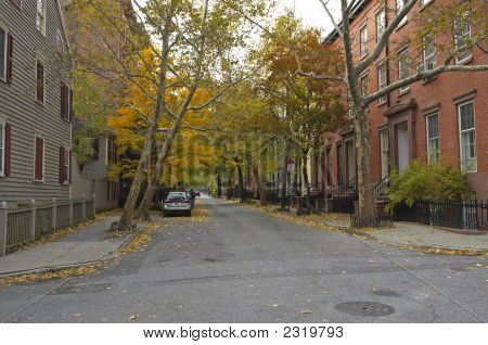 Autumn In Brooklyn Heights