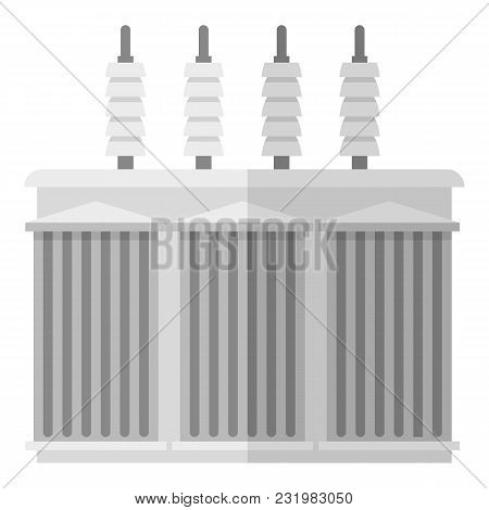 Electricity Icon. Flat Illustration Of Electricity Vector Icon For Web