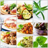 Mediterranean-style cuisine poster