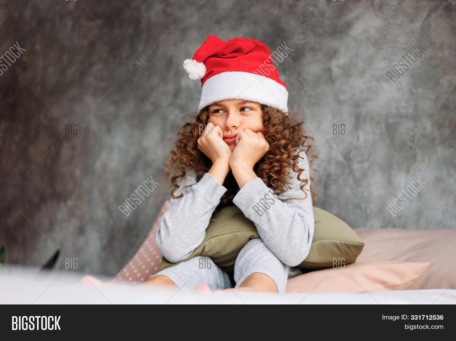 Curly Haired Beautiful Image Photo Free Trial Bigstock