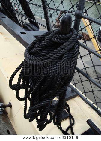 Black Ship'S Rope