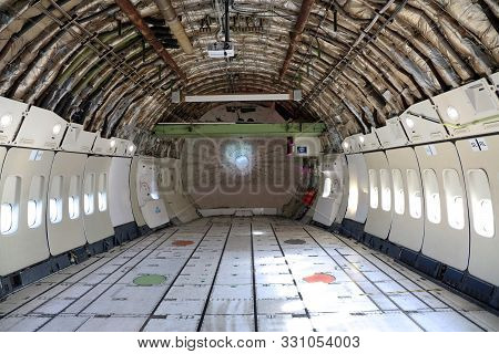 Cargo Space Of A Boeing 747