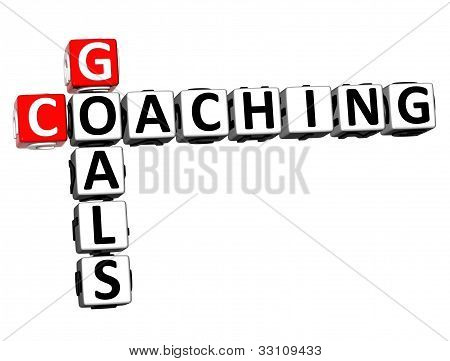 3D Goals Coaching Crossword