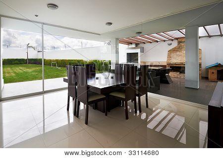 Interior design series: Modern Dining room