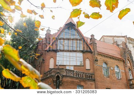 Lviv, Ukraine. October 2019. The House In Which He Lived And Worked Novakovsky A. H.