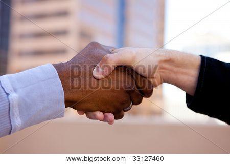 Handshake Of Friendship
