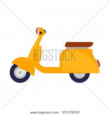 yellow scooter vector vector photo free trial bigstock yellow scooter vector vector photo