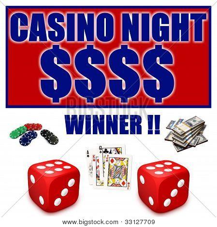 Casino Night Ad