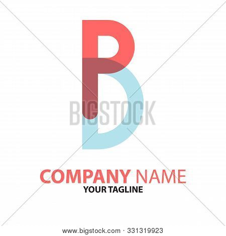Pd Dp Initial Logo Concept Can Be Used For Companies And Businesses