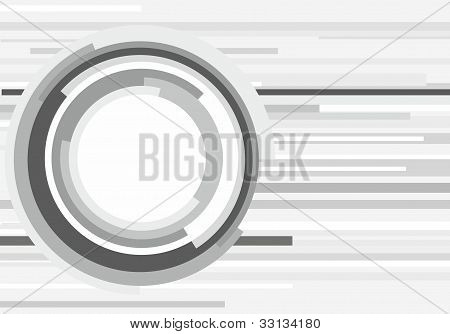 grey futuristic background